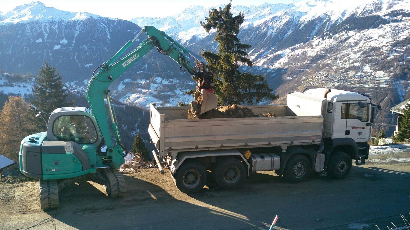 Camions de chantier